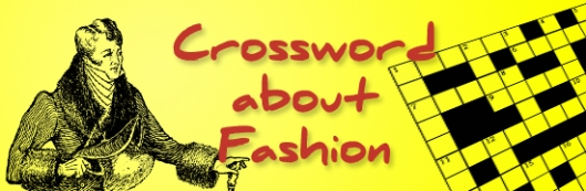 CROSSWORD about FASHION