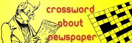 CROSSWORD about NEWSPAPER